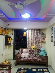 Gallery Cover Image of 640 Sq.ft 1 BHK Apartment for buy in Pragati Balaji Kalash, Ulwe for 4200000