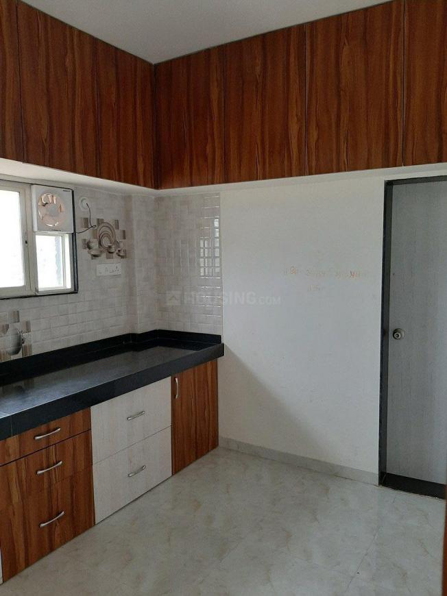 Kitchen Image of 600 Sq.ft 1 BHK Independent House for rent in Awhalwadi for 6000