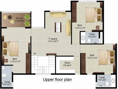 Gallery Cover Image of 1162 Sq.ft 2 BHK Apartment for buy in Adeshwar 72 Parksyde, Ghatkopar East for 25000000