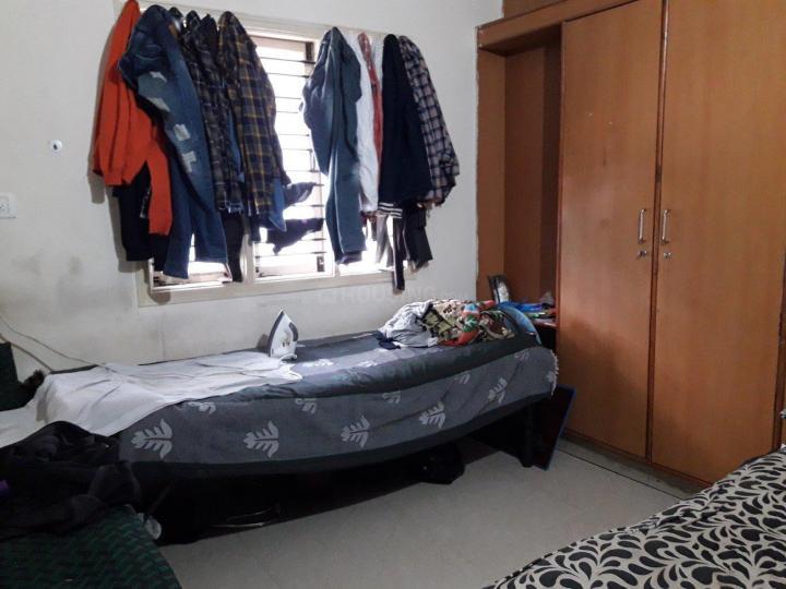 मुरुगेश्पल्य में श्री विष्णु लक्ज़री पीजी में बेडरूम की तस्वीर