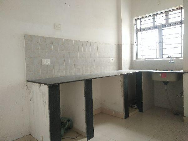 Kitchen Image of 1500 Sq.ft 3 BHK Apartment for rent in Space Club Town Greens, Belghoria for 18000