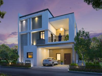 Gallery Cover Image of 2560 Sq.ft 3 BHK Villa for buy in Incor Divino, Serilingampally for 21000000