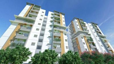 Gallery Cover Image of 1575 Sq.ft 3 BHK Apartment for buy in Khaja Guda for 7875000