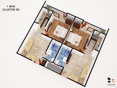 Gallery Cover Image of 700 Sq.ft 2 BHK Apartment for buy in Dream Heights, sector 73 for 2150000