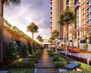 Gallery Cover Image of 758 Sq.ft 1 BHK Apartment for buy in Aadi Allure Wings A To E, Bhandup East for 10000000