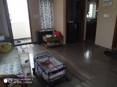 Gallery Cover Image of 1500 Sq.ft 2 BHK Apartment for rent in Murugeshpalya for 27000