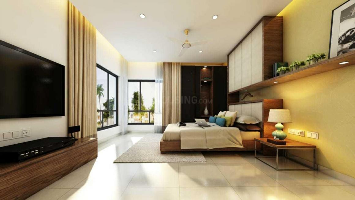 Bedroom Image of 411 Sq.ft 1 RK Apartment for buy in Joka for 924750