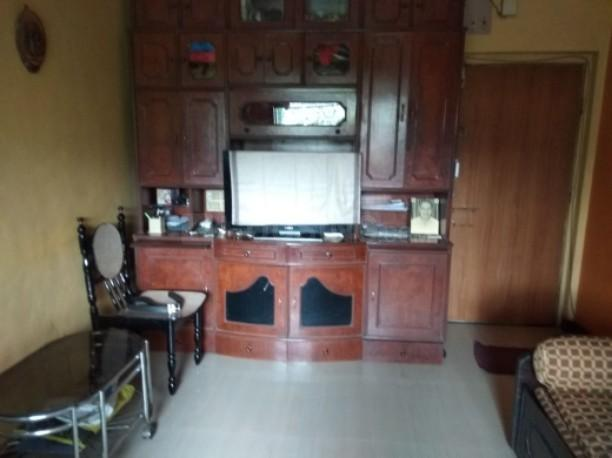 Living Room Image of 500 Sq.ft 1 BHK Apartment for rent in Airoli for 18500