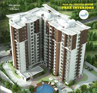 Gallery Cover Image of 1195 Sq.ft 3 BHK Apartment for buy in Muneshwara Nagar for 8126000