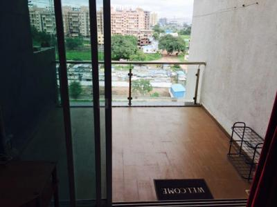 Gallery Cover Image of 450 Sq.ft 1 RK Apartment for rent in Agarwal Aditya Mega City, Vaibhav Khand for 12000