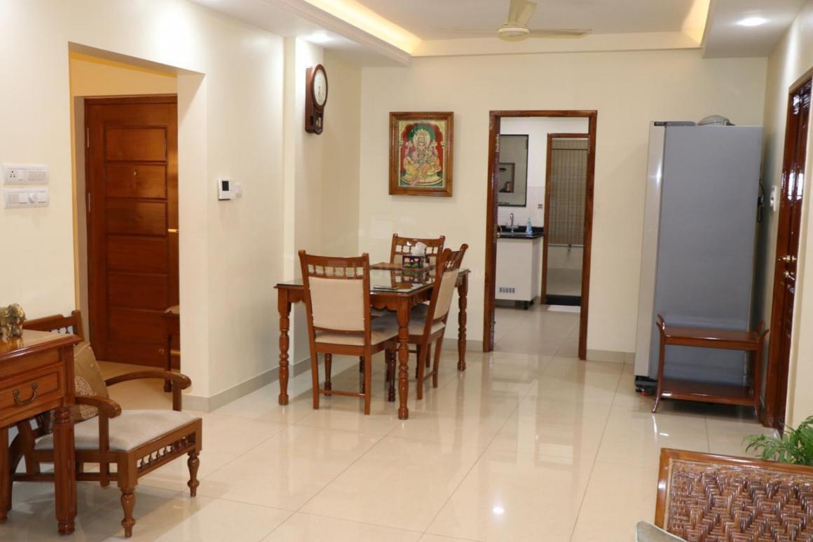 Living Room Image of 1490 Sq.ft 3 BHK Apartment for buy in Besant Nagar for 27500000
