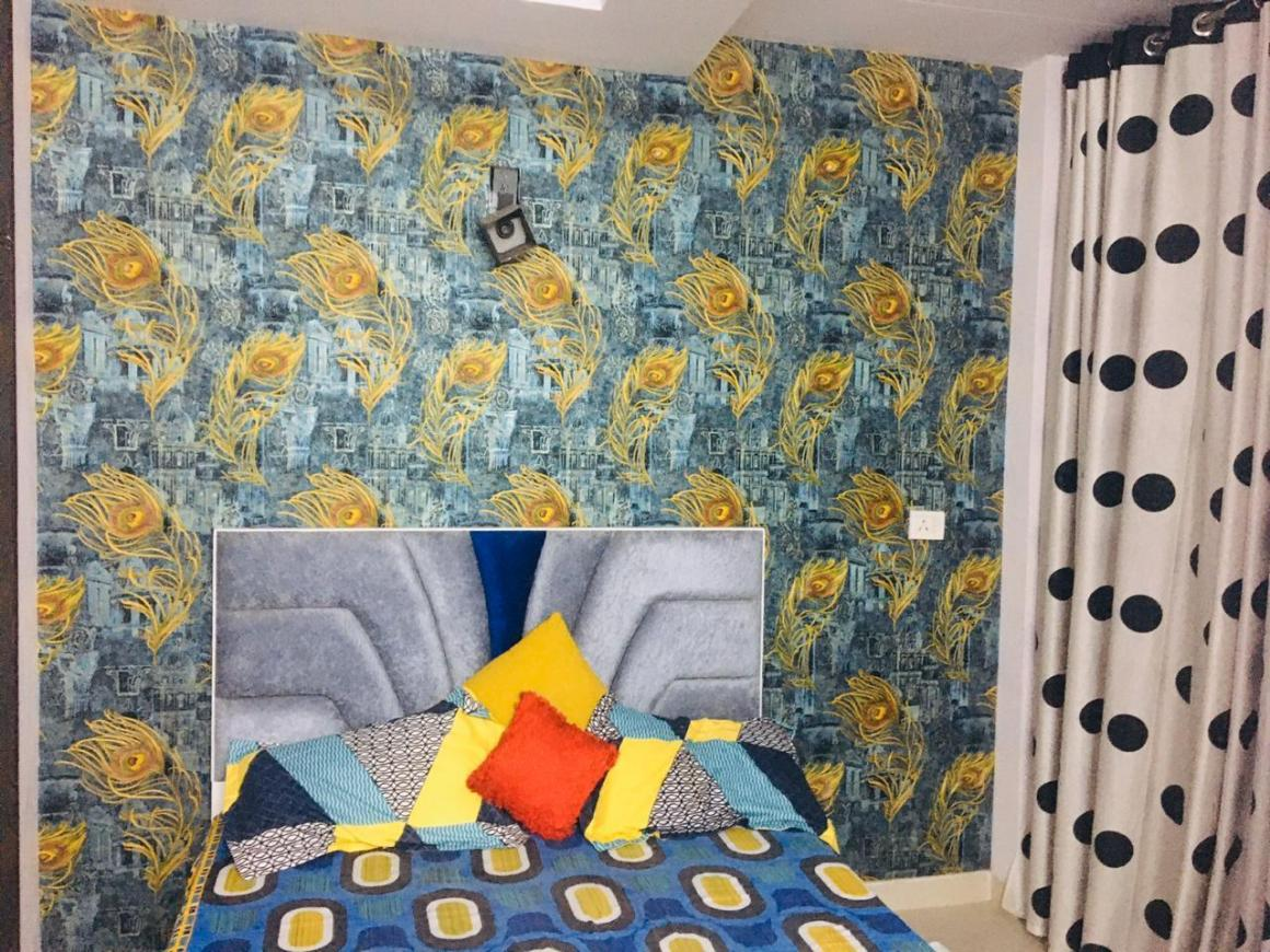 Bedroom Image of 430 Sq.ft 1 BHK Independent Floor for rent in Mahavir Enclave for 15000