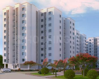 Gallery Cover Image of 672 Sq.ft 2 BHK Apartment for buy in Kogilu for 3476000