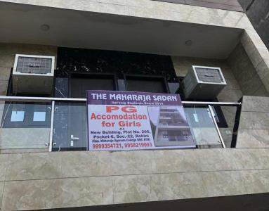 Building Image of Maharaja Sadan PG in Sector 24 Rohini