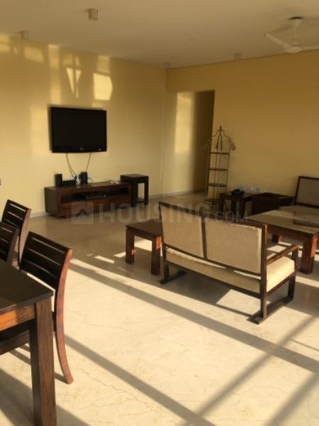 Living Room Image of 3200 Sq.ft 4 BHK Apartment for rent in Bandra East for 400000