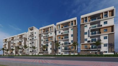 Gallery Cover Image of 1215 Sq.ft 2 BHK Apartment for buy in Puppalaguda for 4620000