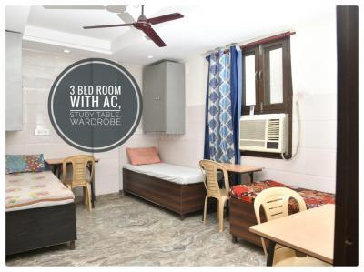 Bedroom Image of Shyam Ji Girls PG in Ganesh Nagar