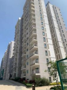 Gallery Cover Image of 1985 Sq.ft 3 BHK Apartment for rent in L And T Raintree Boulevard, Hebbal for 40000