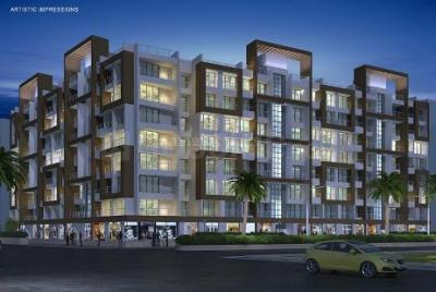 Gallery Cover Image of 830 Sq.ft 2 BHK Apartment for buy in GeeCee The Mist Phase II, Karjat for 3200000