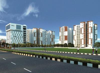 Gallery Cover Image of 1912 Sq.ft 3 BHK Apartment for buy in Akshaya Tango Compact Homes, Thoraipakkam for 14340000