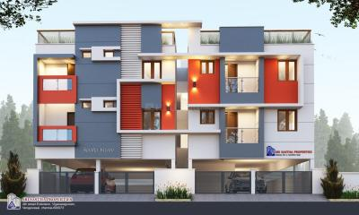 Gallery Cover Image of 521 Sq.ft 1 BHK Apartment for buy in Medavakkam for 2188000