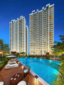 Gallery Cover Image of 660 Sq.ft 2 BHK Apartment for buy in Shapoorji Pallonji Joyville Virar Phase 1, Virar West for 5800000