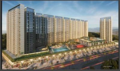 Gallery Cover Image of 1100 Sq.ft 2 BHK Apartment for rent in Akshar Green World, Dighe for 26000