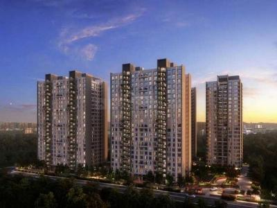 Gallery Cover Image of 1160 Sq.ft 2 BHK Apartment for buy in Godrej Garden City, Chandkheda for 5400000