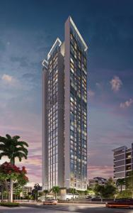Gallery Cover Image of 375 Sq.ft 1 BHK Apartment for buy in Siroya Level The Residences, Andheri West for 7000000
