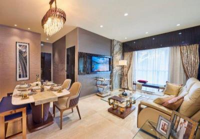 Living Room Image of 580 Sq.ft 1 BHK Apartment for buy in MS H2O, Santacruz East for 15500000