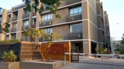 Gallery Cover Image of 2202 Sq.ft 3 BHK Apartment for rent in Setu Copper Stone, Thaltej for 35000