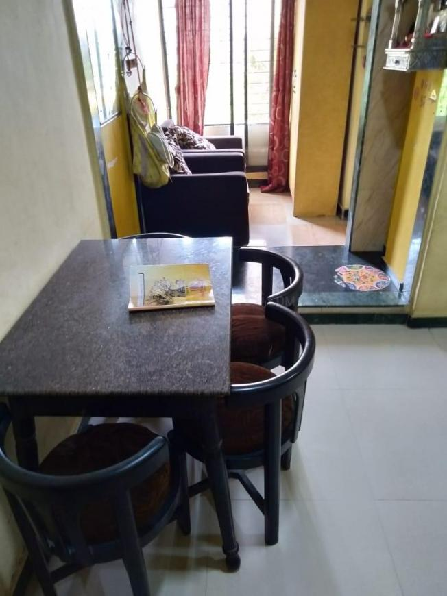 Living Room Image of 650 Sq.ft 1 BHK Apartment for rent in Ulwe for 7500