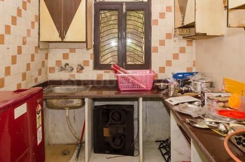 शिप्रा सनसिटी में गोयल नेस्ट शक्ति खंड के किचन की तस्वीर