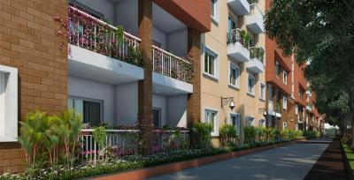 Gallery Cover Image of 687 Sq.ft 1 BHK Apartment for buy in Thanisandra Main Road for 3400000