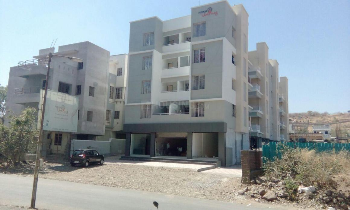 Building Image of 800 Sq.ft 2 BHK Apartment for rent in Yewalewadi for 10000