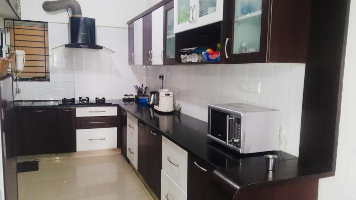 Kitchen Image of 1500 Sq.ft 3 BHK Apartment for rent in Battarahalli for 22000