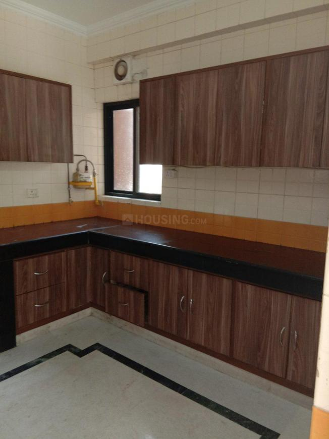 Kitchen Image of 1800 Sq.ft 3 BHK Apartment for rent in Sector 22 Dwarka for 32000