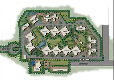 Gallery Cover Image of 2032 Sq.ft 3 BHK Apartment for rent in Park Grandeura, Sector 82 for 18000
