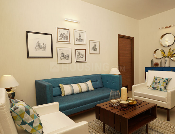 Living Room Image of 2017 Sq.ft 4 BHK Apartment for buy in Korattur for 10286700