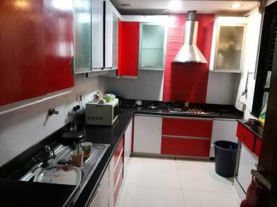 Kitchen Image of Dnf Hospitality PG in Chittaranjan Park