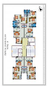 Gallery Cover Image of 800 Sq.ft 2 BHK Apartment for buy in Zeus Residency, Sion for 15660000