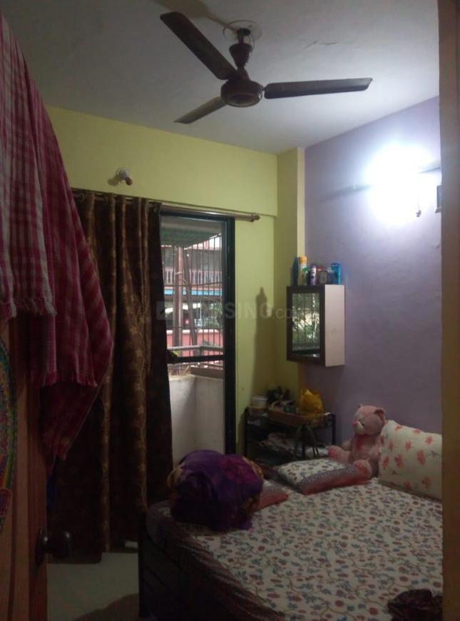 Bedroom Image of 600 Sq.ft 1 BHK Independent House for rent in Kamothe for 9000