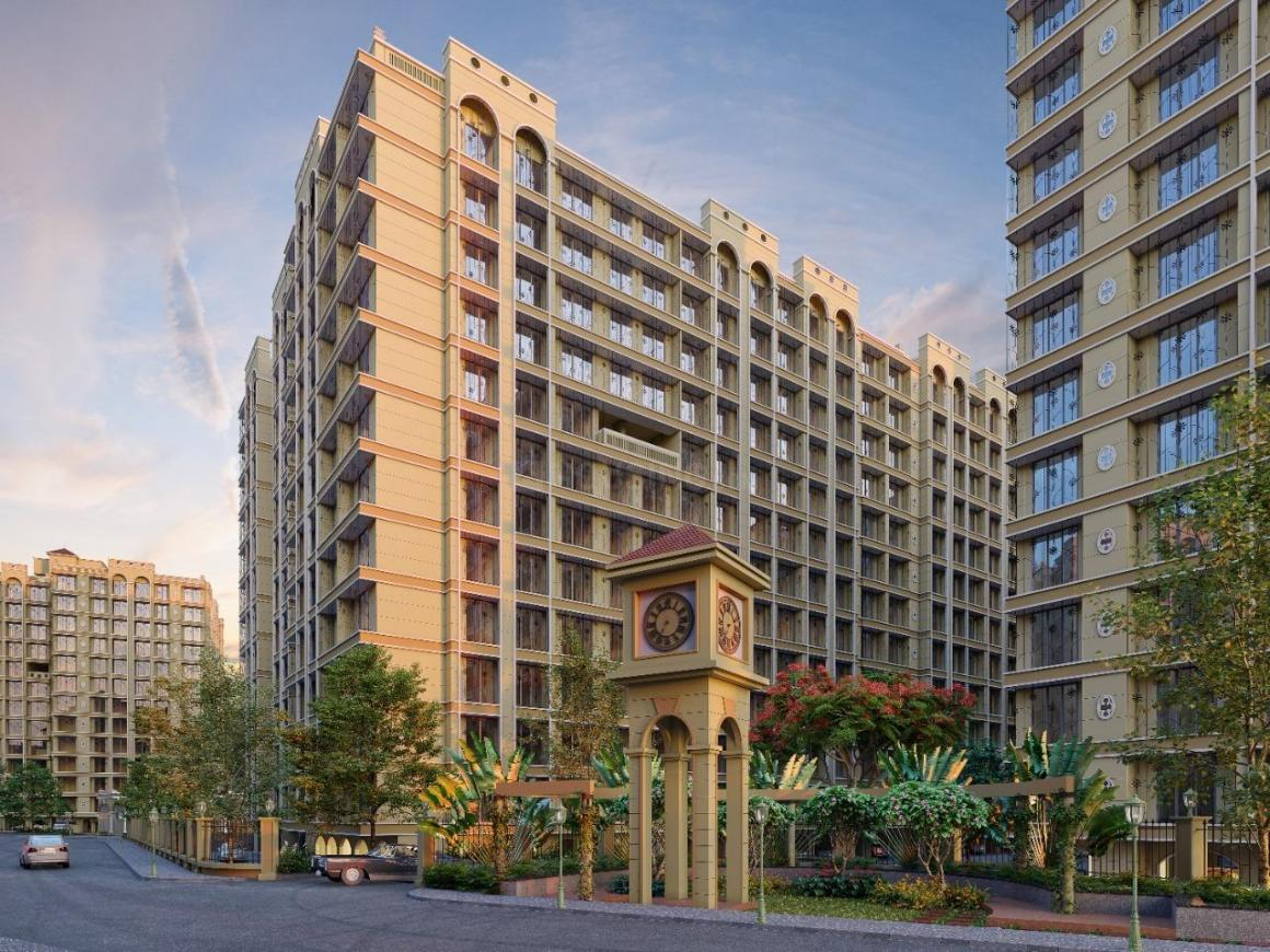 Building Image of 894 Sq.ft 2 BHK Apartment for buy in Rasayani for 3900000