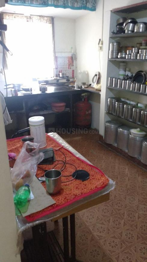 Kitchen Image of 650 Sq.ft 1 BHK Apartment for rent in Dhayari for 7500