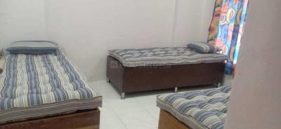 Bedroom Image of PG For Male And Female Fully Furnished in Kandivali East