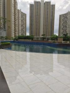 Gallery Cover Image of 1230 Sq.ft 3 BHK Apartment for rent in Merlin Elita Garden Vista, New Town for 18000