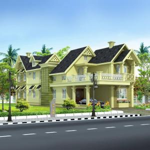 Gallery Cover Image of 3110 Sq.ft 4 BHK Villa for buy in Kannothchal for 15500000