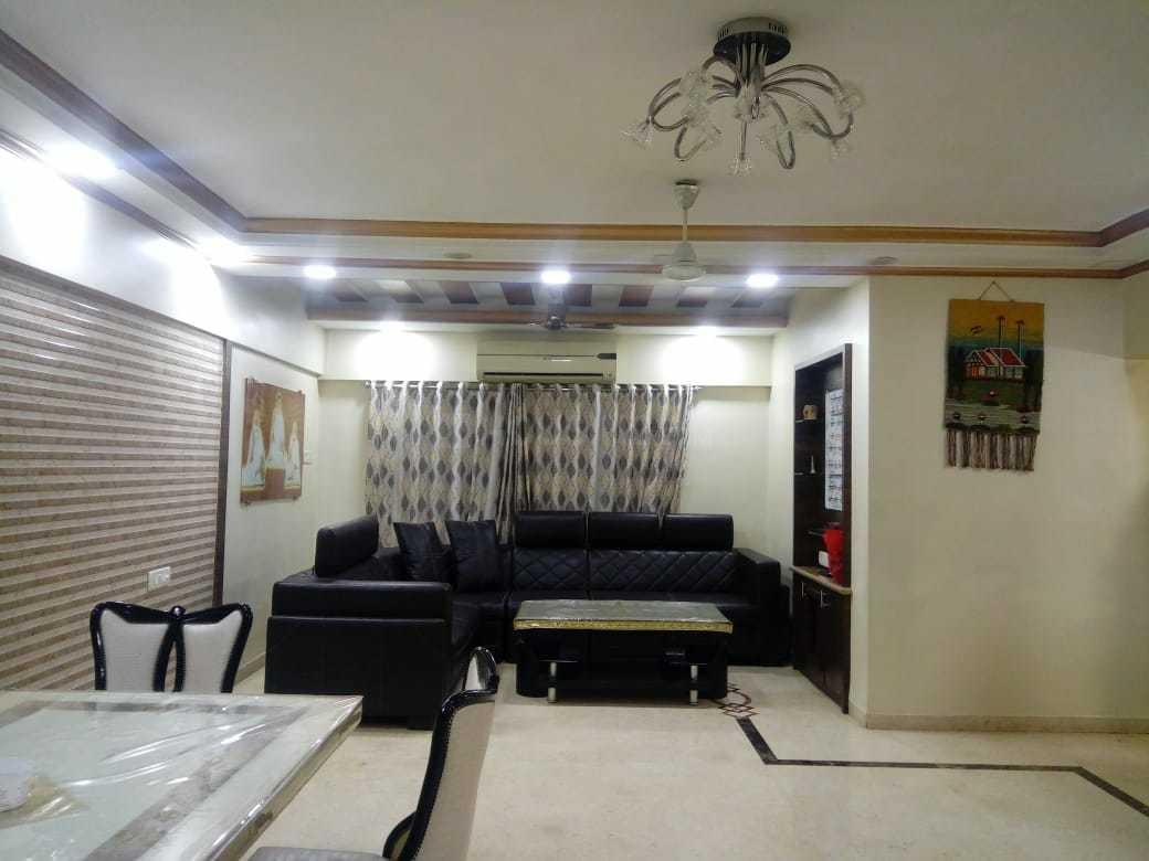 Living Room Image of 900 Sq.ft 2 BHK Apartment for rent in Ghatkopar West for 55000