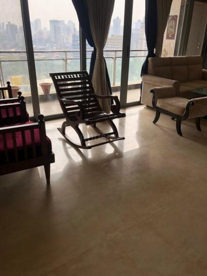 Living Room Image of 2090 Sq.ft 4 BHK Apartment for rent in Goregaon West for 110000