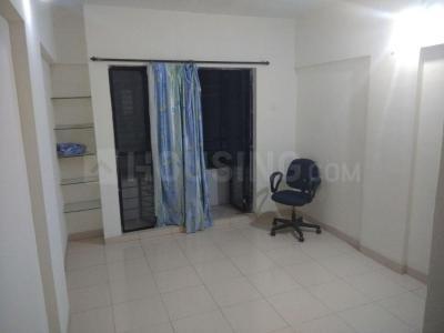 Living Room Image of 650 Sq.ft 1 BHK Apartment for rent in Karve Nagar for 18000